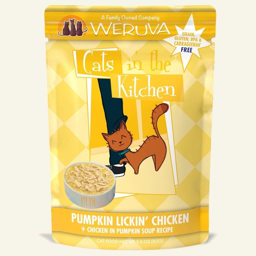 Weruva Weruva Cats in the Kitchen Pumpkin Lickin' Chicken Wet Cat Food Pouch 3oz