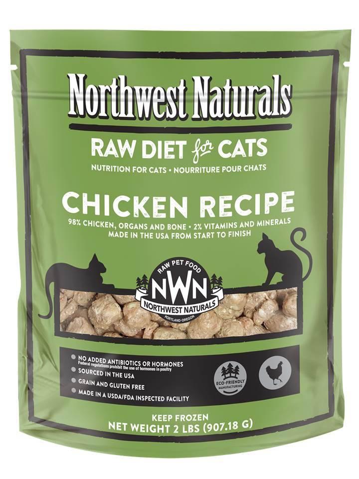Northwest Naturals Northwest Naturals Nibbles Chicken Raw Cat Food 2#