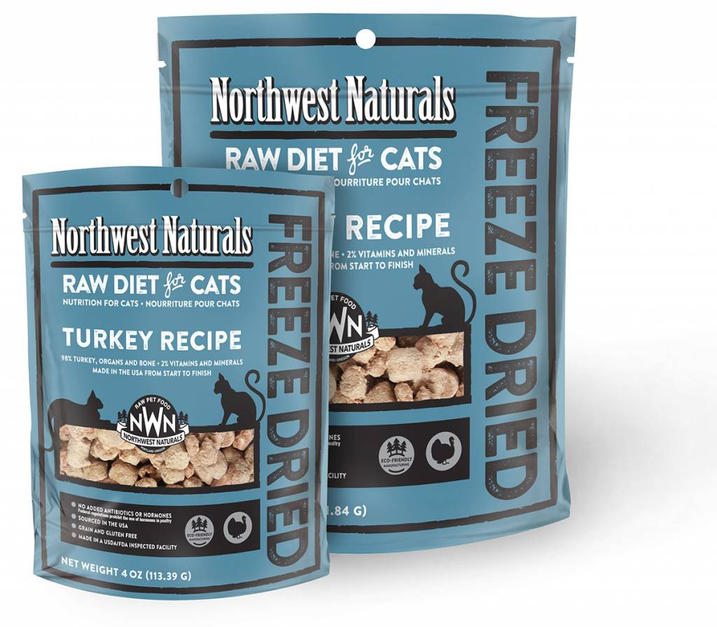 Northwest Naturals Northwest Naturals Nibbles Turkey Freeze Dried Cat Food