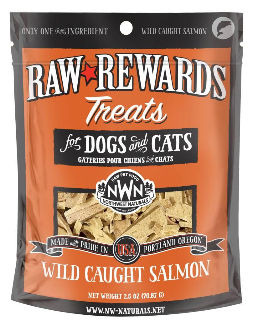 Northwest Naturals Northwest Naturals Raw Rewards Freeze Dried Wild Caught Salmon Cat & Dog Treats 2.5oz