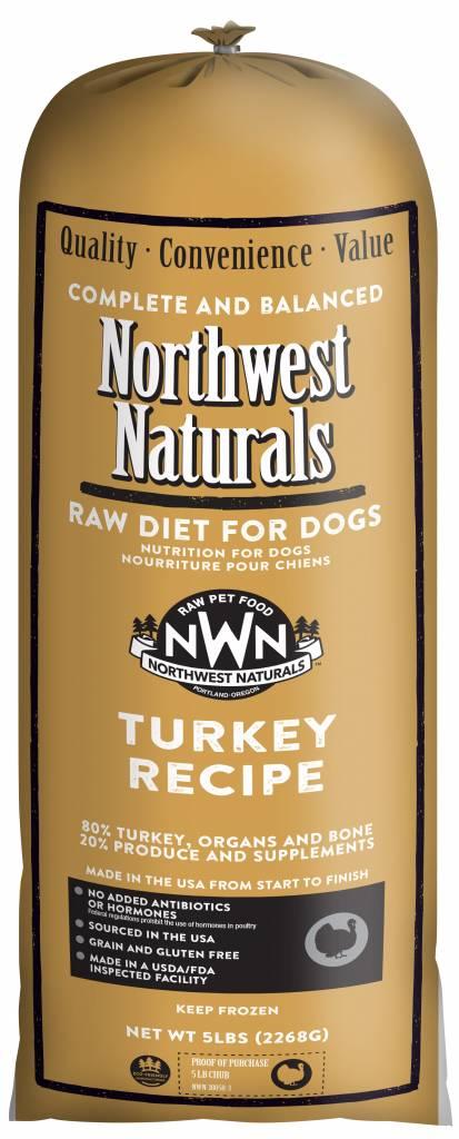 Northwest Naturals Northwest Naturals Raw Chub Turkey Dog Food