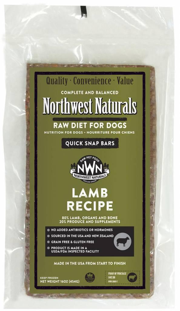 Northwest Naturals Northwest Naturals Dinner Bars Lamb Raw Dog Food