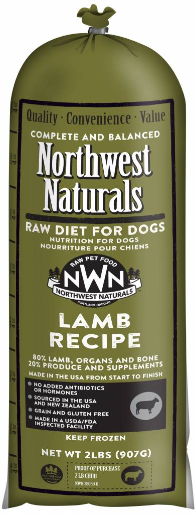 Northwest Naturals Northwest Naturals Chub Lamb Raw Dog Food