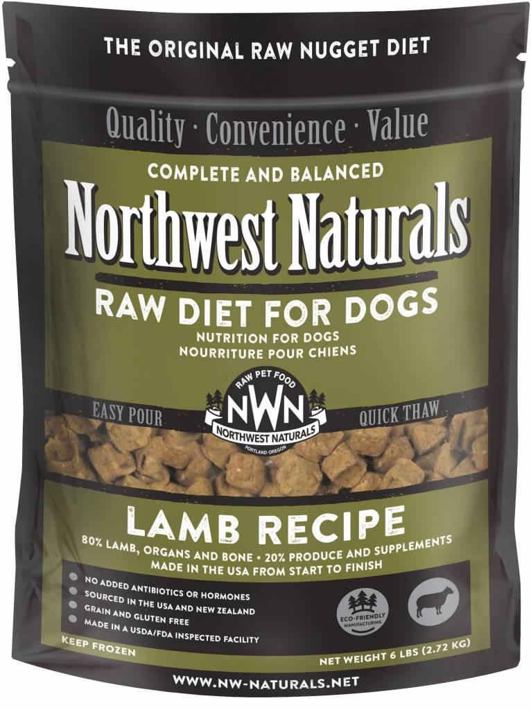 Northwest Naturals Northwest Naturals Nuggets Lamb Raw Dog Food 6#