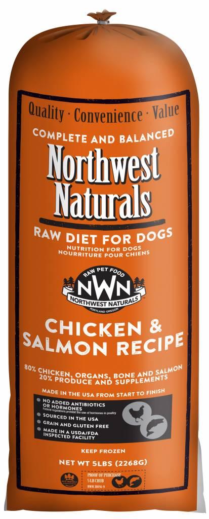 Northwest Naturals Northwest Naturals Chub Chicken & Salmon Raw Dog Food
