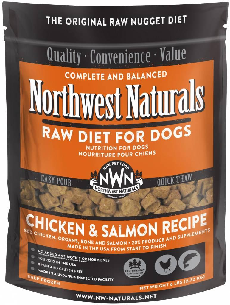 Northwest Naturals Northwest Naturals Nuggets Chicken & Salmon Raw Dog Food 6#