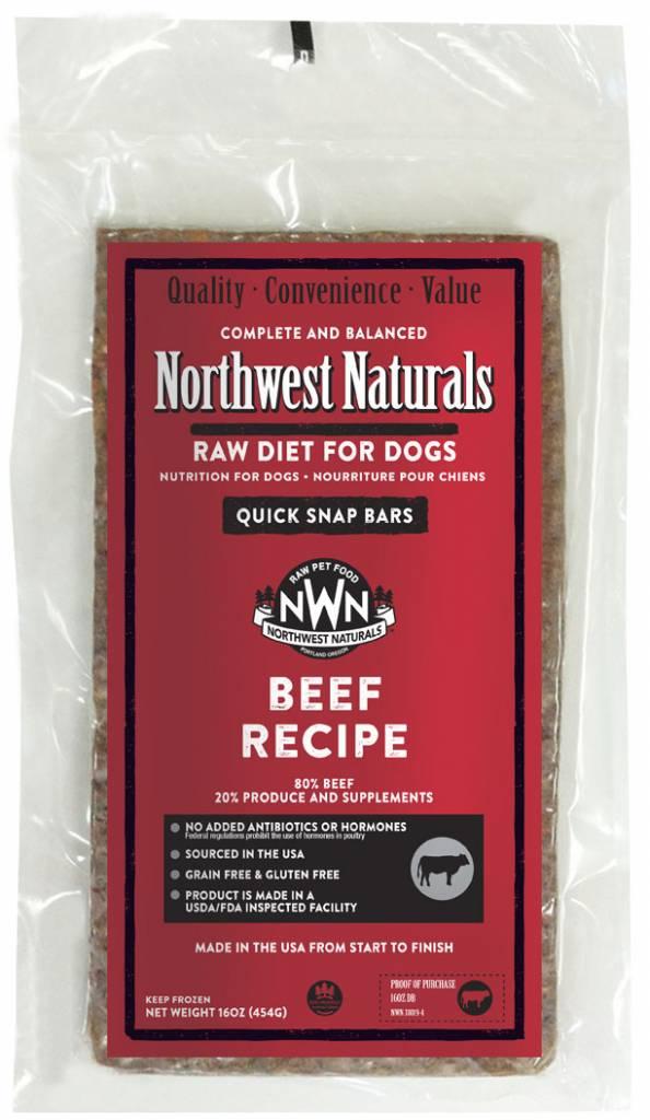 Northwest Naturals Northwest Naturals Dinner Bars Beef Raw Dog Food