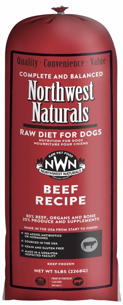 Northwest Naturals Northwest Naturals Chub Beef Raw Dog Food