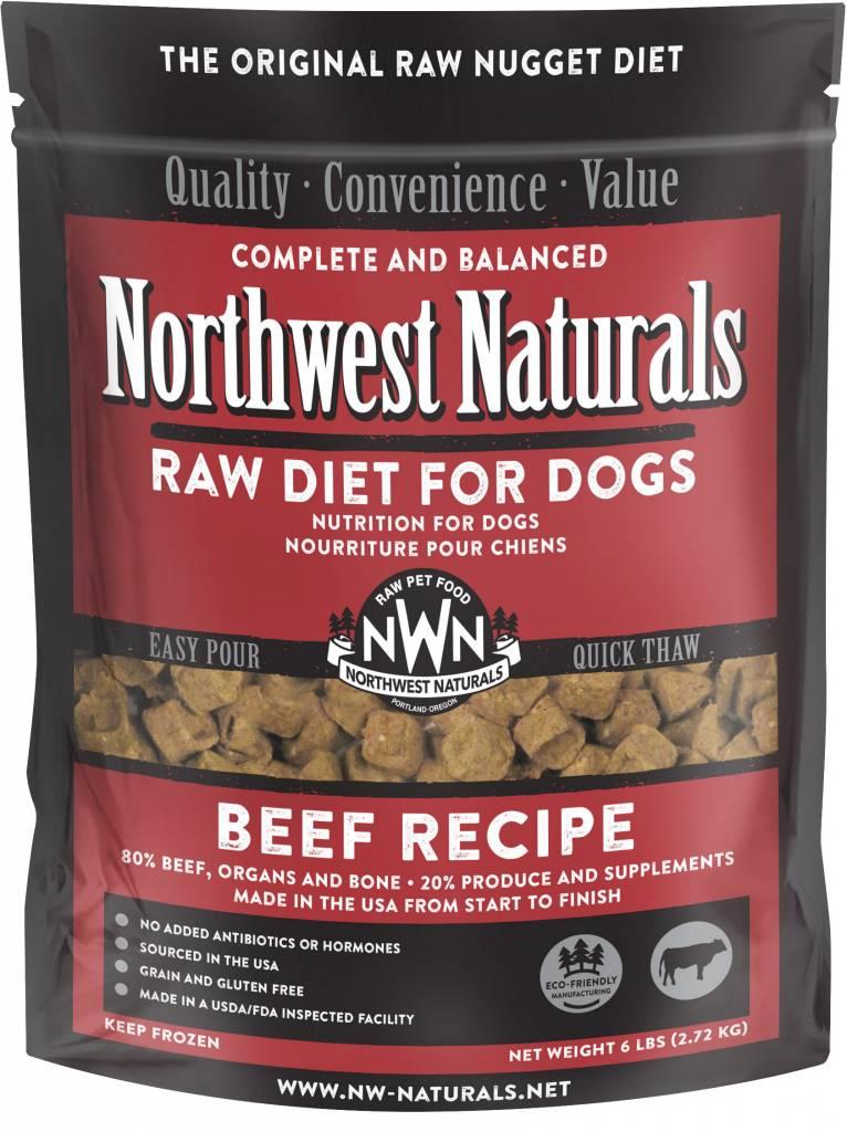 Northwest Naturals Northwest Naturals Nuggets Beef Raw Dog Food 6#