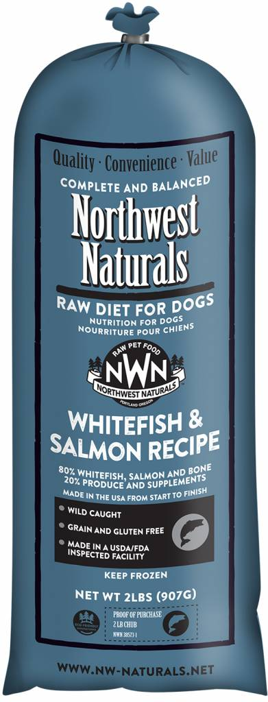 Northwest Naturals Northwest Naturals Chub Whitefish & Salmon Raw Dog Food
