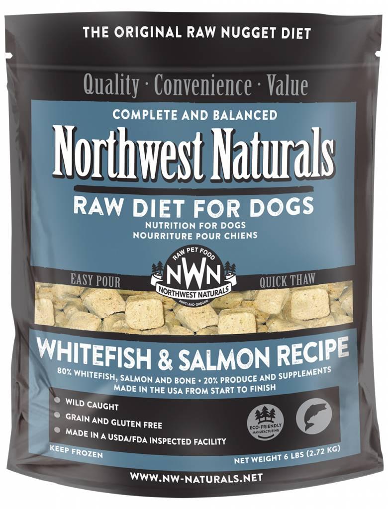 Northwest Naturals Northwest Naturals Nuggets Whitefish & Salmon Raw Dog Food 6#
