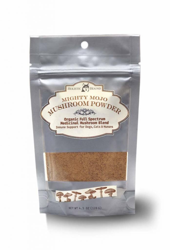 Holistic Hound Holistic Hound Mighty Mojo Mushroom Powder Cat & Dog Supplement 4.5oz