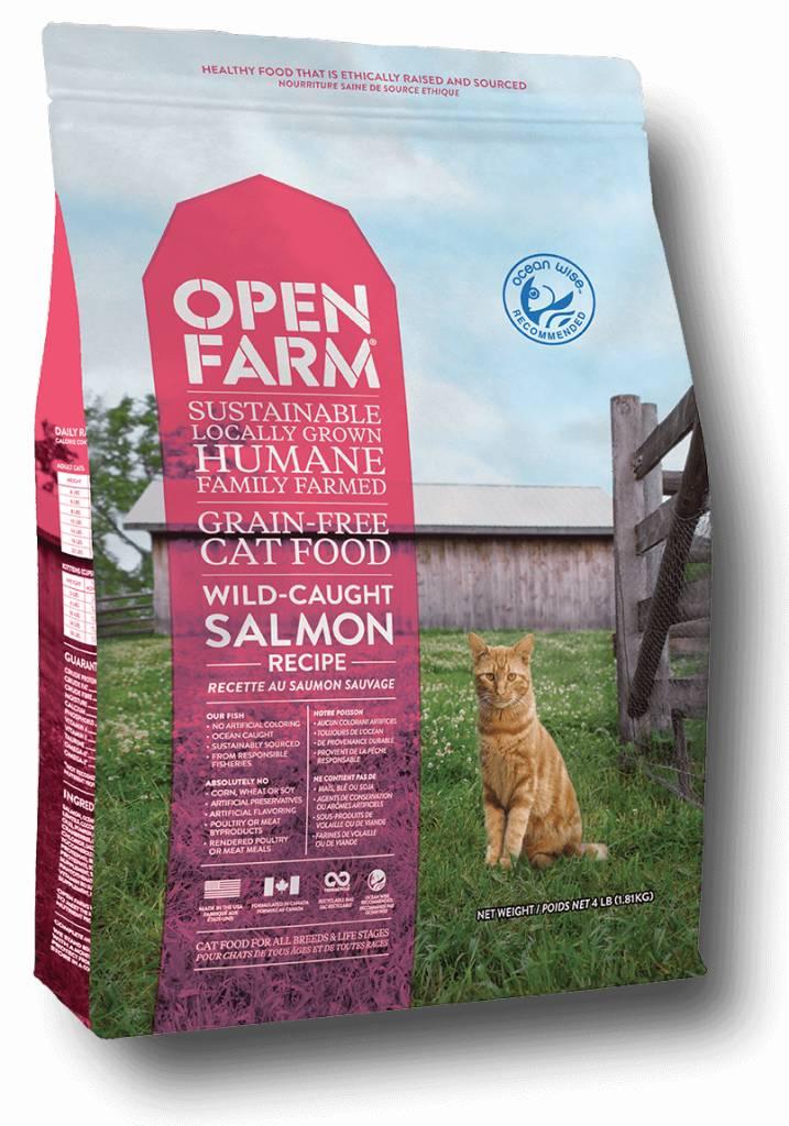 Open Farm Open Farm Wild-Caught Salmon Dry Cat Food