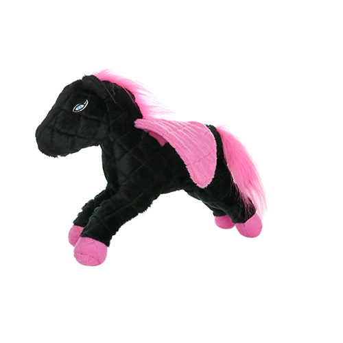 VIP Products VIP Mighty Mythical Pegasus Dog Toy Black & Pink
