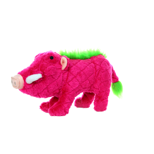 VIP Products VIP Mighty Safari Warthog Pink Dog Toy Regular