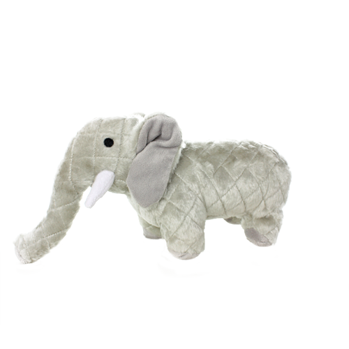 VIP Products VIP Mighty Safari Elephant Gray Dog Toy Regular