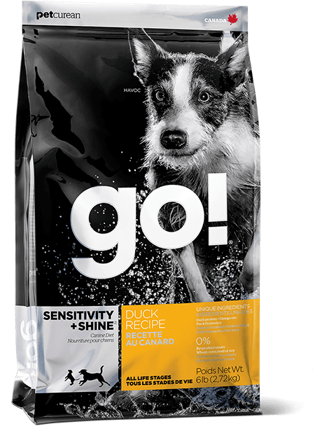 Petcurean GO! Sensitivity + Shine Duck Dry Dog Food