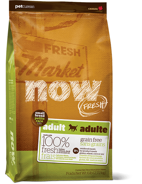 Petcurean Now Fresh Grain Free Small Breed Adult Dry Dog Food