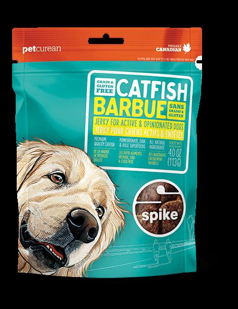 Petcurean Spike Catfish Jerky Dog Treats 4oz