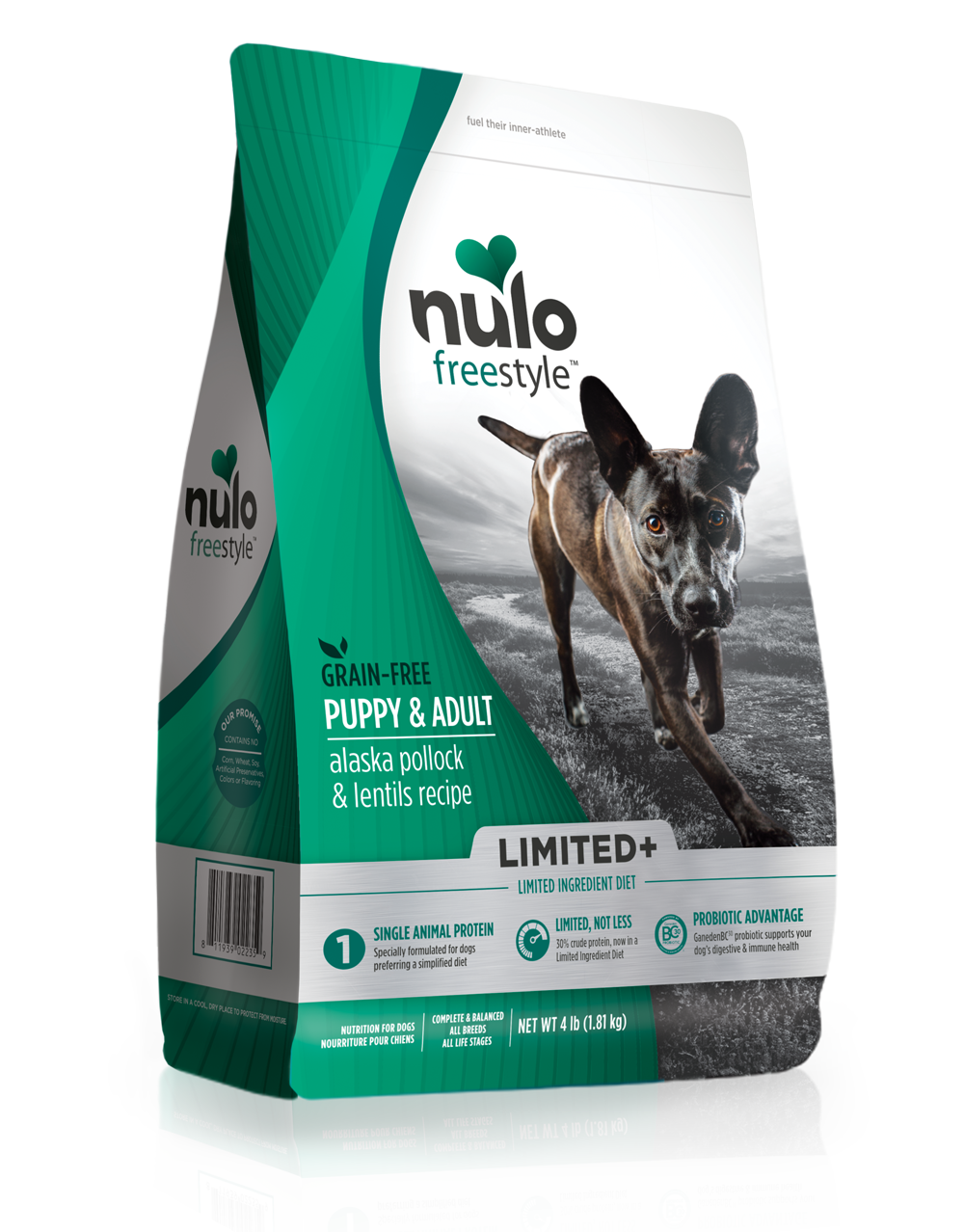 Nulo Nulo Freestyle Limited+ Alaska Pollock & Lentils Dry Dog Food