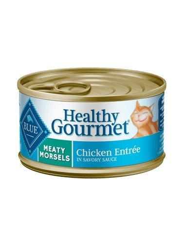 Blue Buffalo Blue Buffalo Healthy Gourmet Meaty Morsels Chicken Wet Cat Food 5.5oz