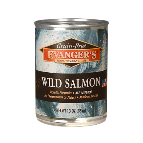 Evanger's Evanger's 100% Wild Salmon Wet Cat & Dog Food 13oz