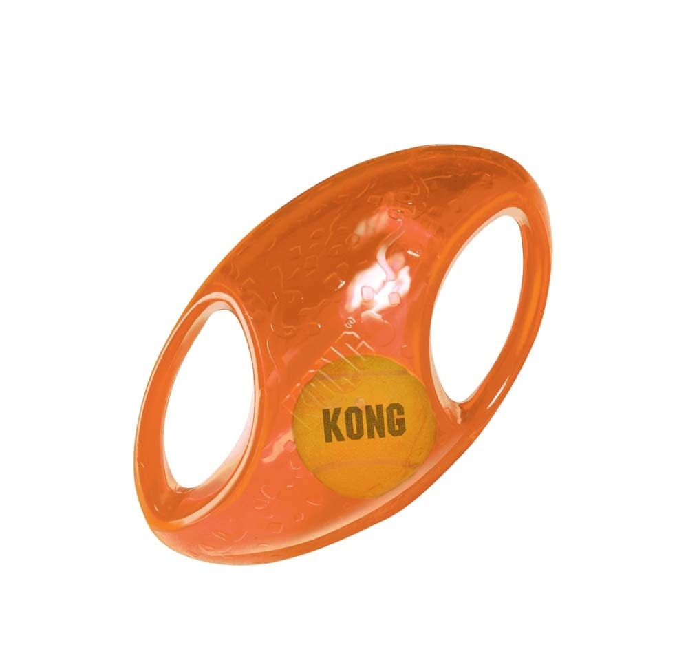 Kong Kong Jumbler Football Dog Toy  Medium/Large