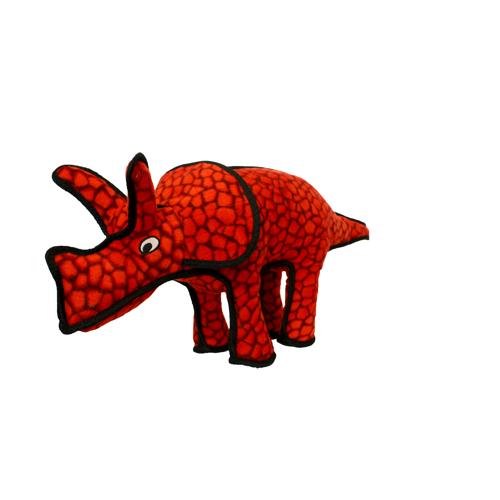 VIP Products VIP Tuffy Dinosaur Triceratops Dog Toy Regular