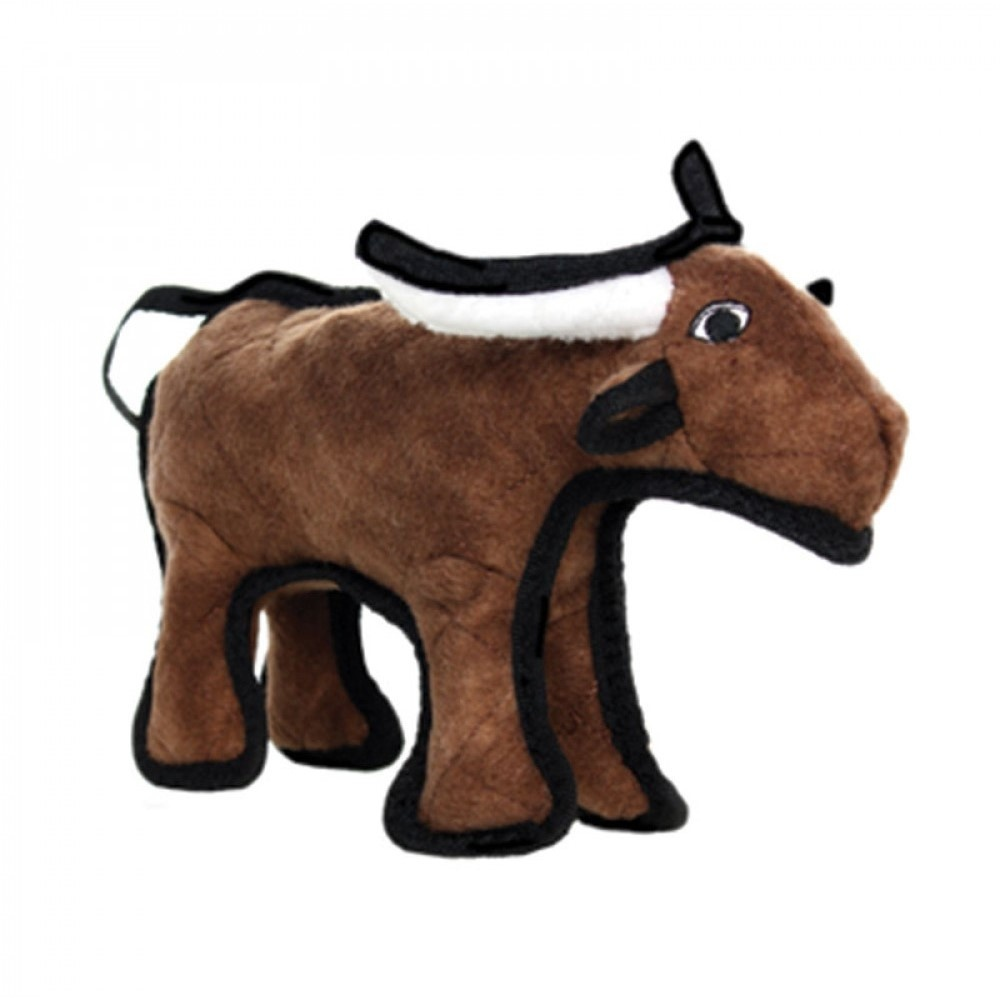 VIP Products VIP Tuffy Barnyard Bull Dog Toy Regular