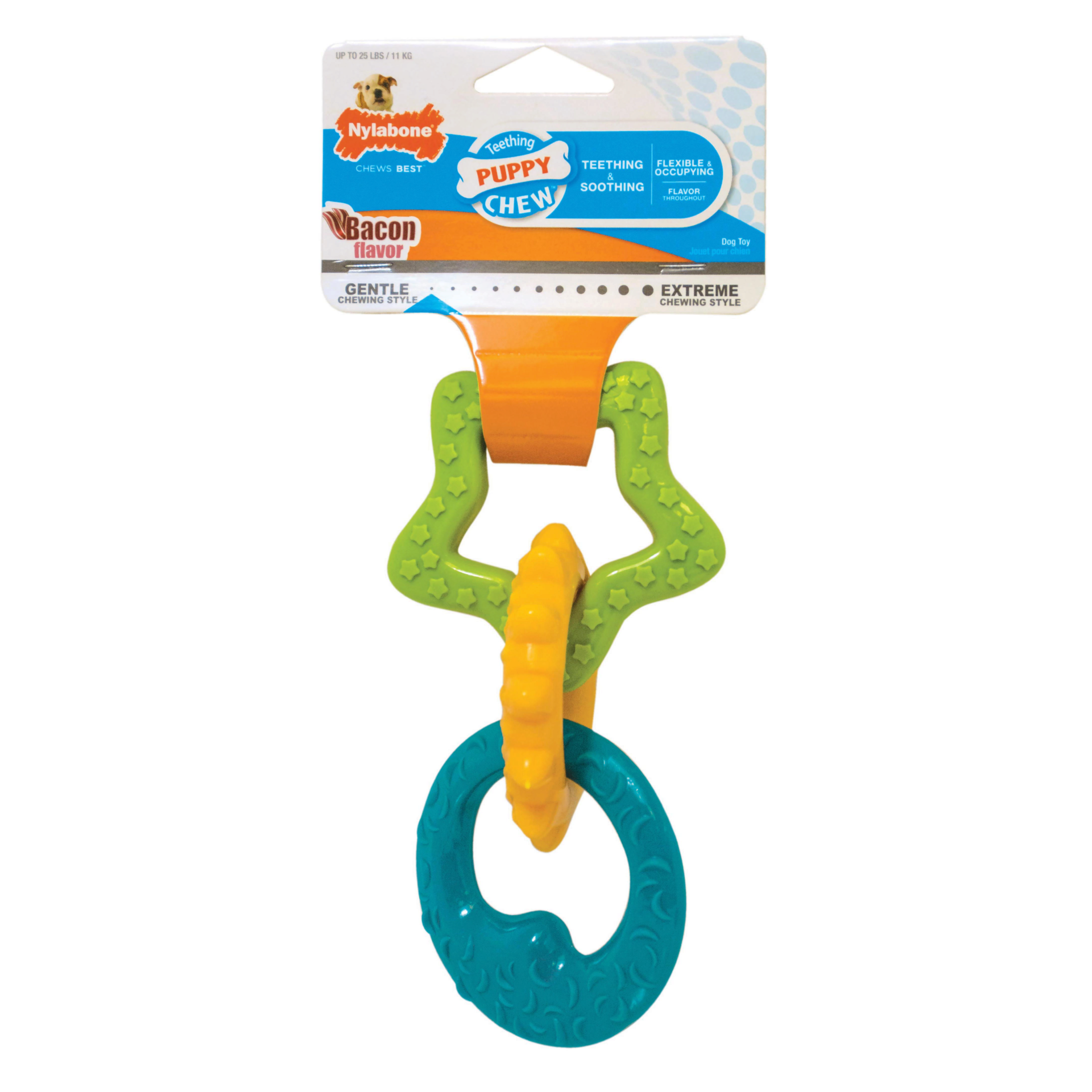 Nylabone Nylabone Puppy Chew Teething Rings Dog Toy