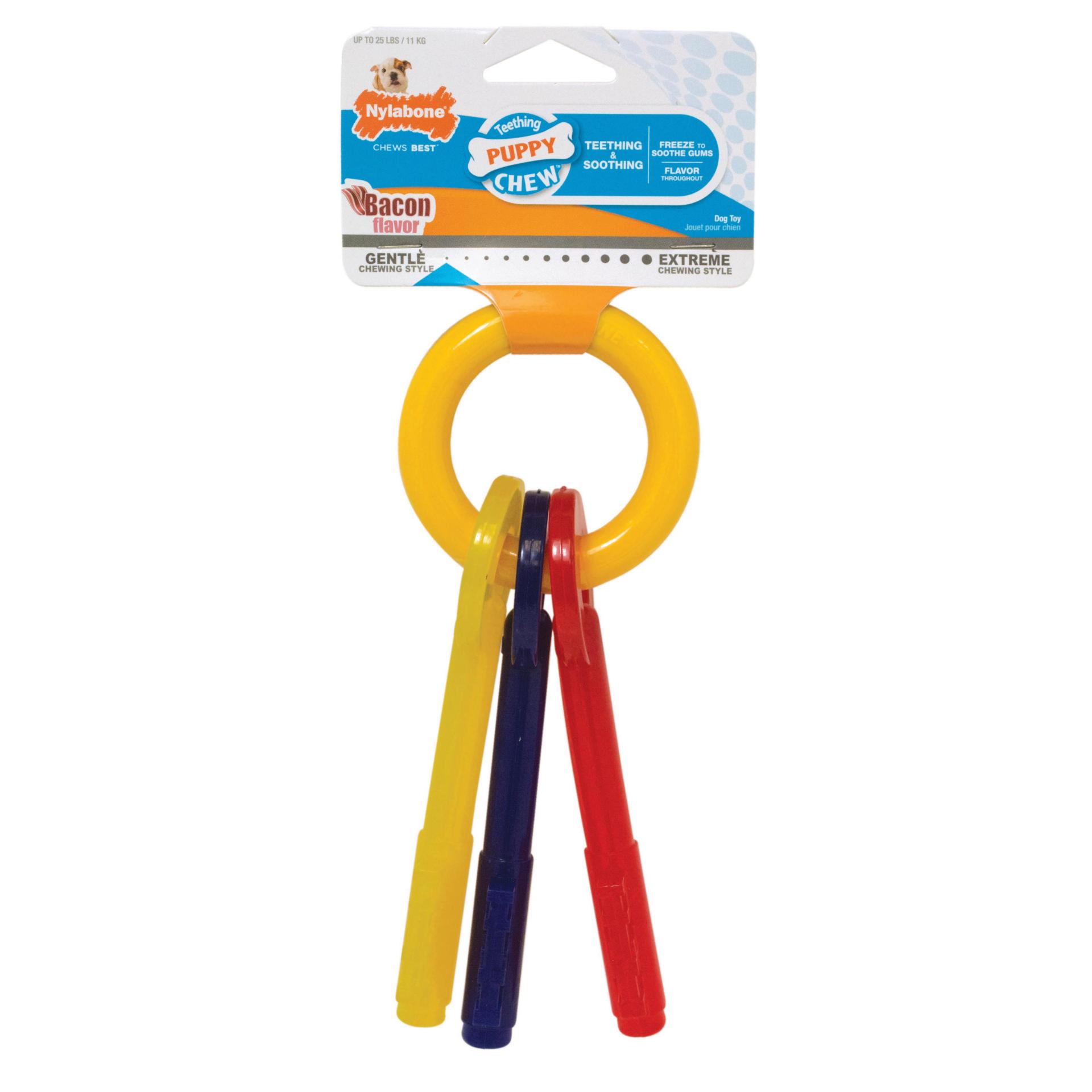 Nylabone Nylabone Puppy Chew Teething Keys Dog Toy