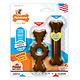Nylabone Nylabone Puppy Chew Bone & Ring Bone Dog Toy Twin Pack