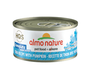 Almo Nature HQS Complete Tuna with Pumpkin in Gravy Wet Cat Food 2.47oz