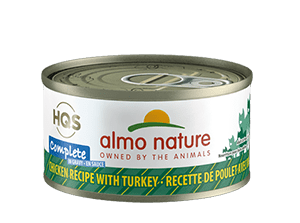 Almo Nature Almo Nature HQS Complete Chicken with Turkey in Gravy Wet Cat Food 2.47oz