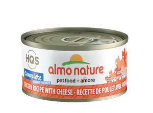 Almo Nature Almo Nature HQS Complete Chicken with Cheese in Gravy Wet Cat Food 2.47oz