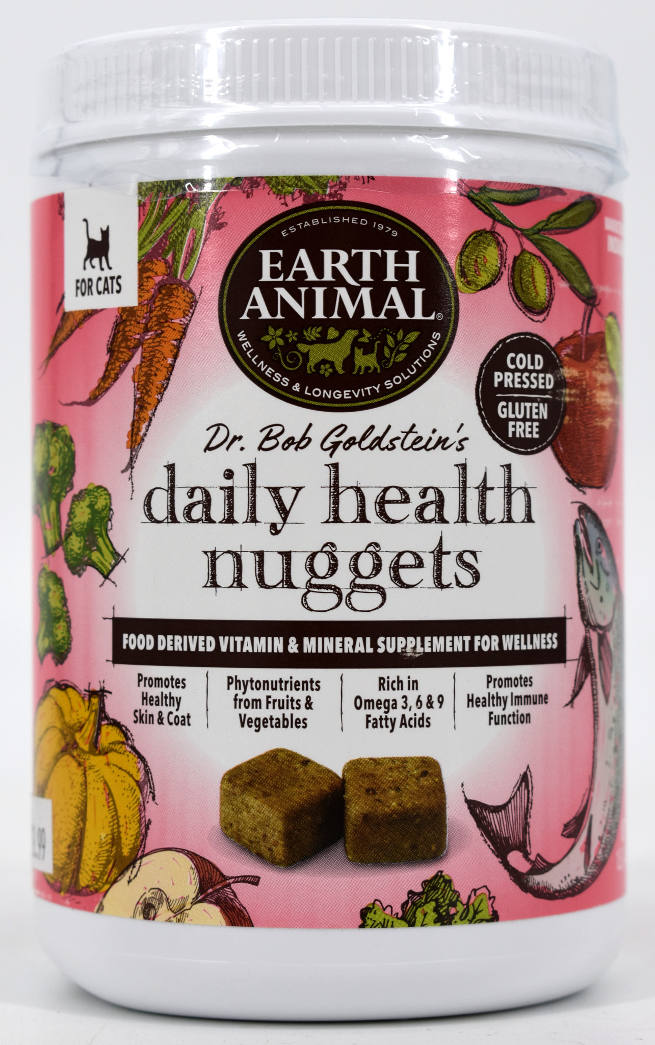 Earth Animal Daily Health Nuggets Cat Supplement 1#