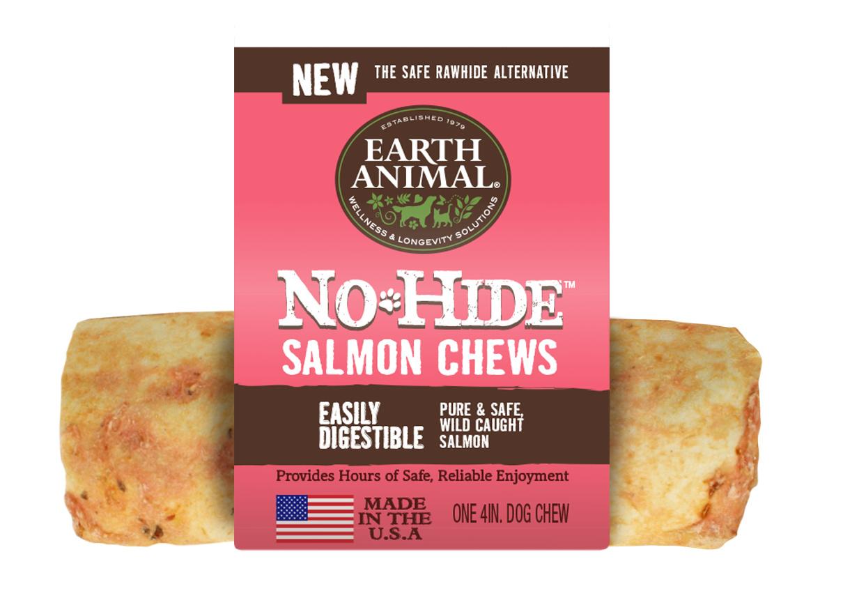 Earth Animal Earth Animal No Hide Salmon Dog Chew