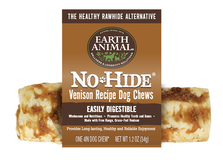 Earth Animal No Hide Venison Dog Chew