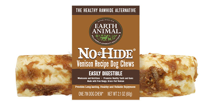 Earth Animal Earth Animal No Hide Venison Dog Chew