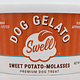 Swell Swell Gelato Sweet Potato Molasses Frozen Dog Treat