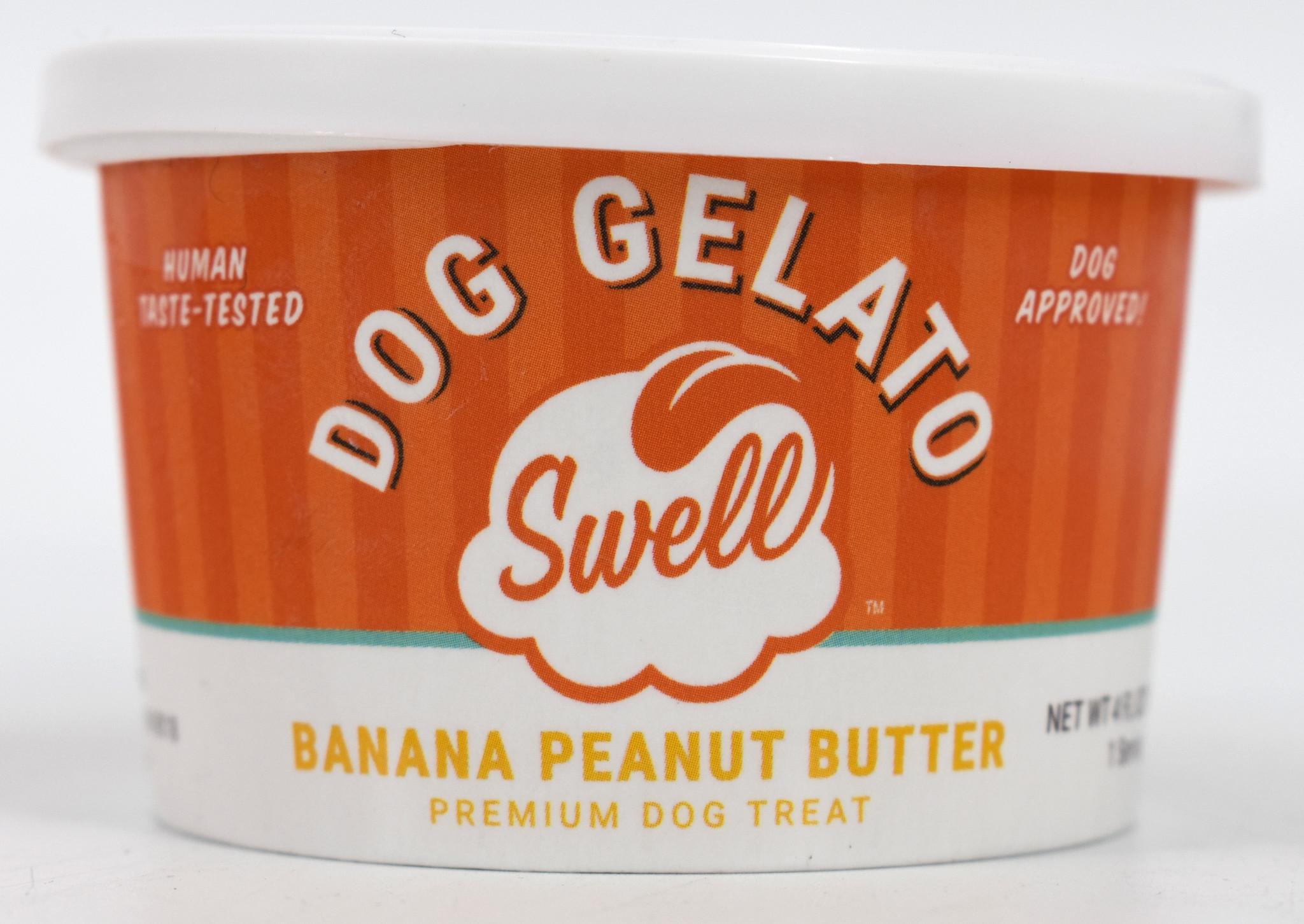 Swell Gelato Banana Peanut Butter Frozen Dog Treat
