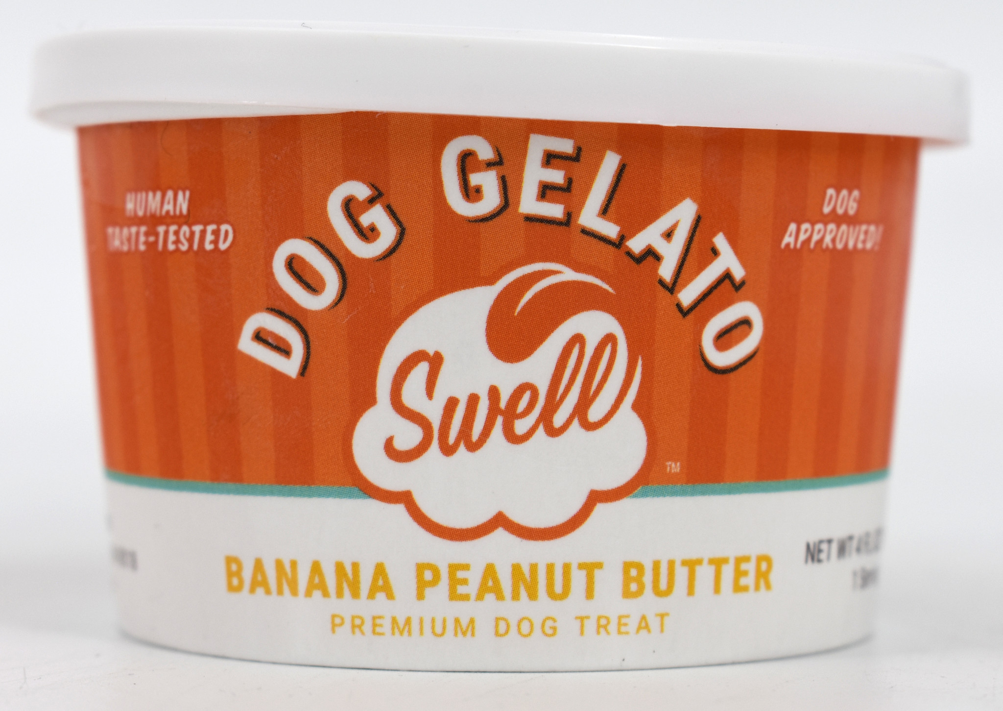 Swell Swell Gelato Banana Peanut Butter Frozen Dog Treat
