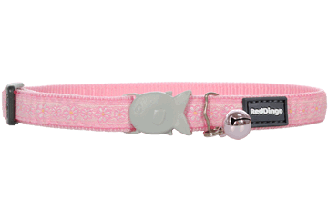 Red Dingo Designs Cat Collar Daisy Chain Pink