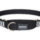 Red Dingo Red Dingo Reflective Martingale Dog Collar Bones Black