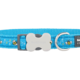 Red Dingo Red Dingo Designs Dog Collar Bumble Bee Turquoise