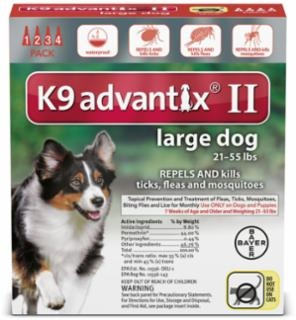 Bayer Advantix II Topical Flea Control Dog