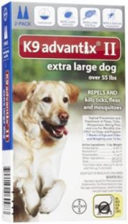 Bayer Advantix II Topical Flea Control Dog