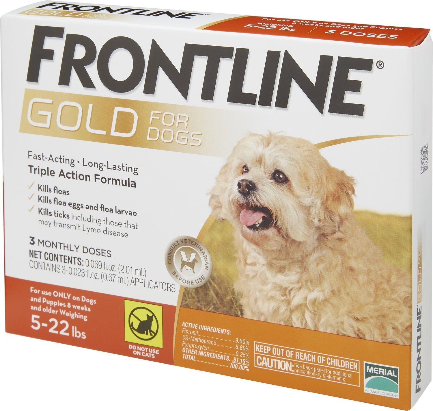 Frontline Gold Topical Flea Control Dog