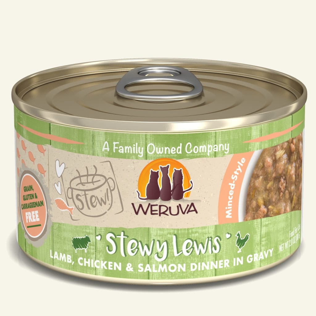 Weruva Weruva Stewy Lewis Wet Cat Food 5.5oz