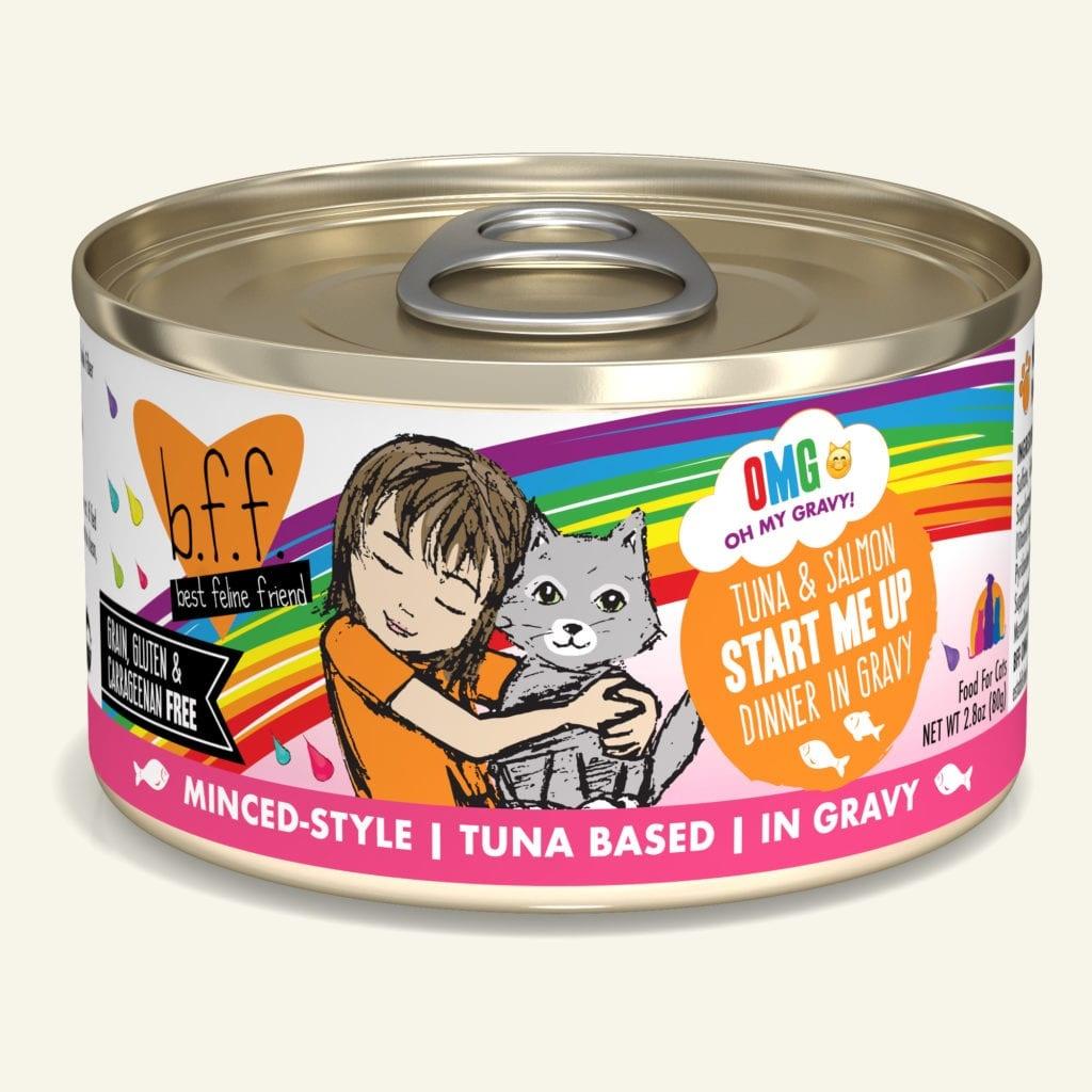 Weruva Weruva BFF OMG Tuna & Salmon Start Me Up Wet Cat Food 5.5oz
